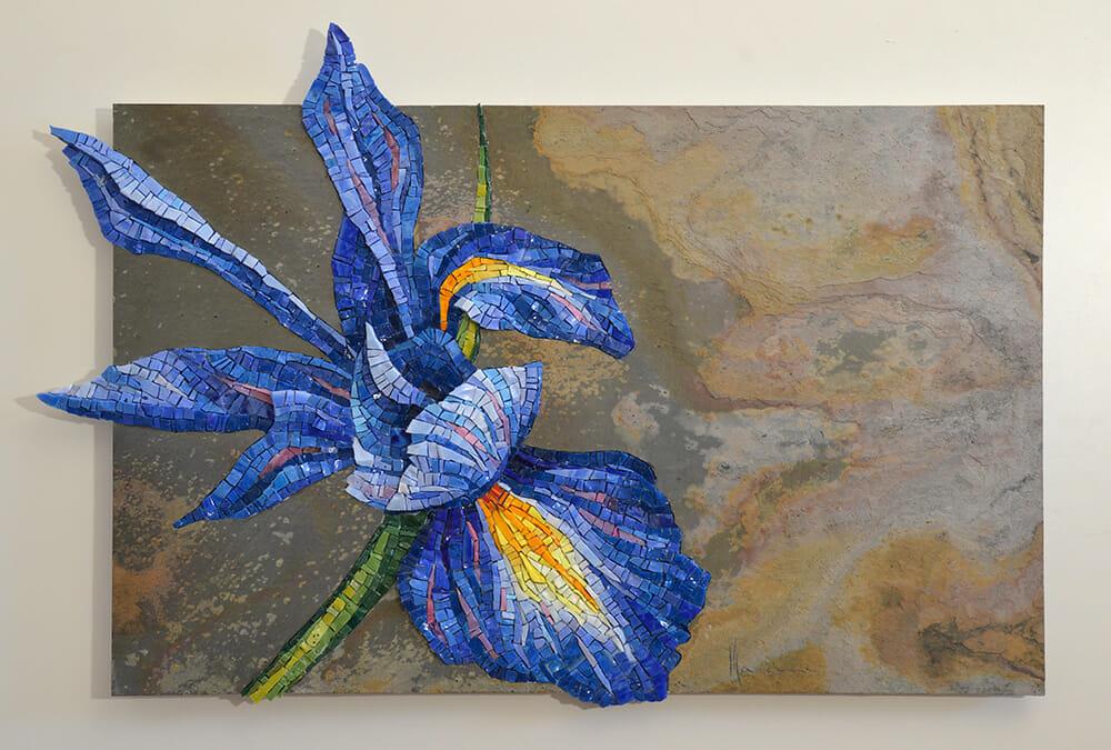 Mosaici figurativi ambientati realizzati da Dino Maccini