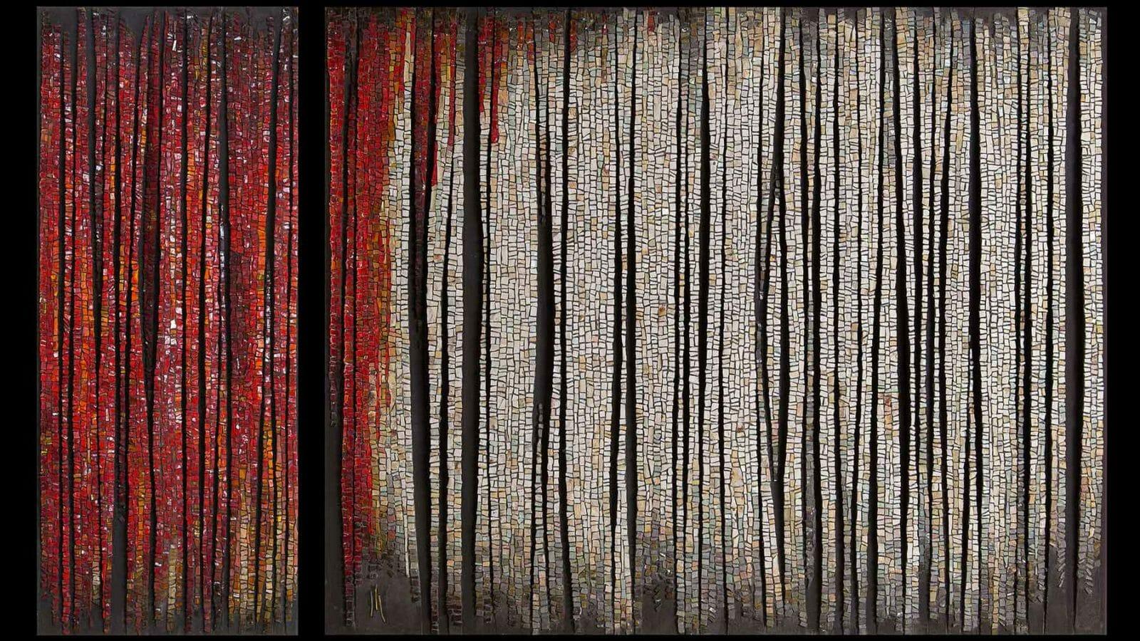 Mosaico di Dino Maccini