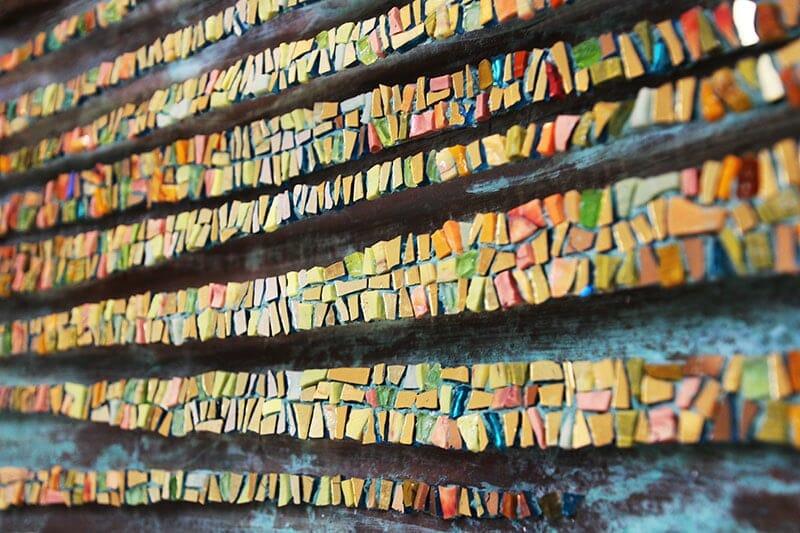 Mostra Dino Maccini Convergence Mosaique Contemporaine